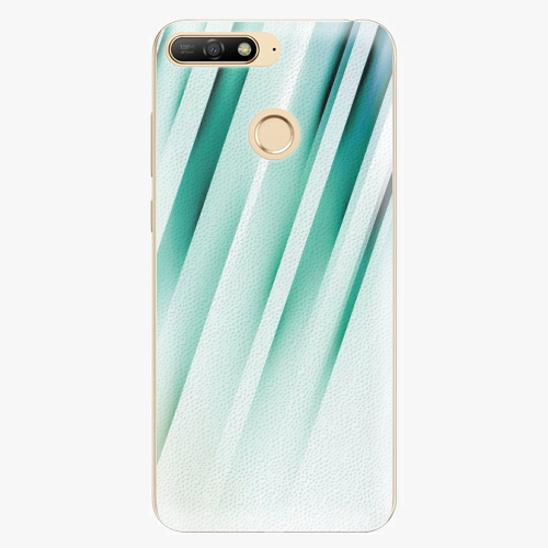 Silikonové pouzdro iSaprio - Stripes of Glass - Huawei Y6 Prime 2018