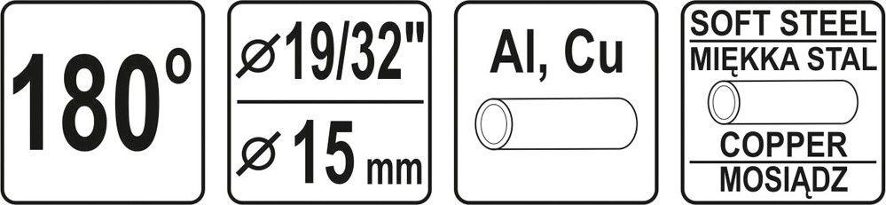 Ohýbačka na trubky - 15 mm