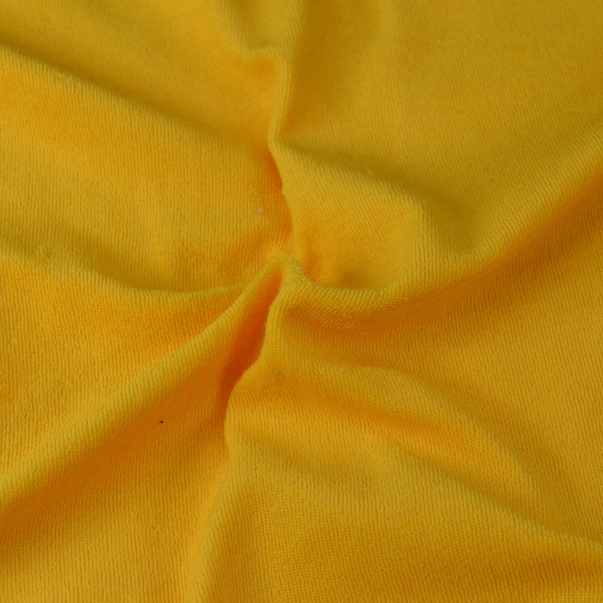 Froté prostěradlo sytě žluté, Výběr rozměru