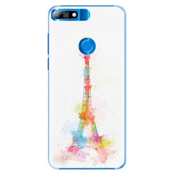 Plastové pouzdro iSaprio - Eiffel Tower - Huawei Y7 Prime 2018