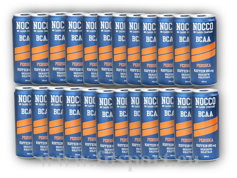 24x NOCCO BCAA + Caffeine 180mg 330ml