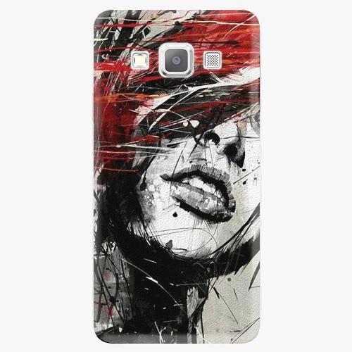 Plastový kryt iSaprio - Sketch Face - Samsung Galaxy A5