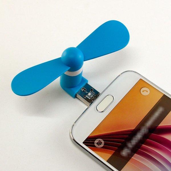 Větráček pro smartphone - Android