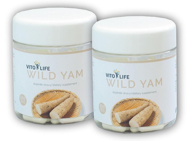 2x Wild Yam 100 kapslí
