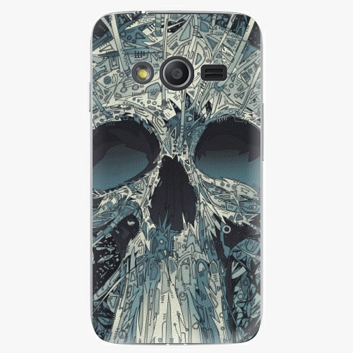 Plastový kryt iSaprio - Abstract Skull - Samsung Galaxy Trend 2 Lite