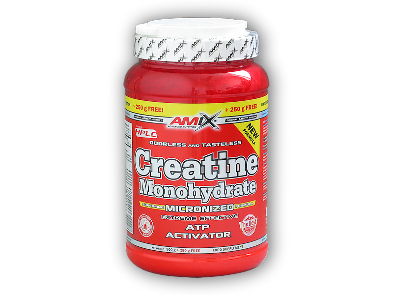 Creatine Monohydrate 500g + 250g powder