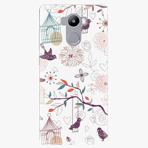 Plastový kryt iSaprio - Birds - Xiaomi Redmi 4 / 4 PRO / 4 PRIME