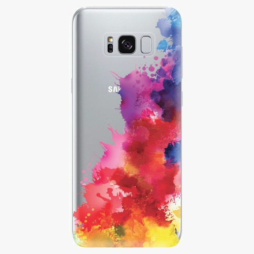 Silikonové pouzdro iSaprio - Color Splash 01 - Samsung Galaxy S8