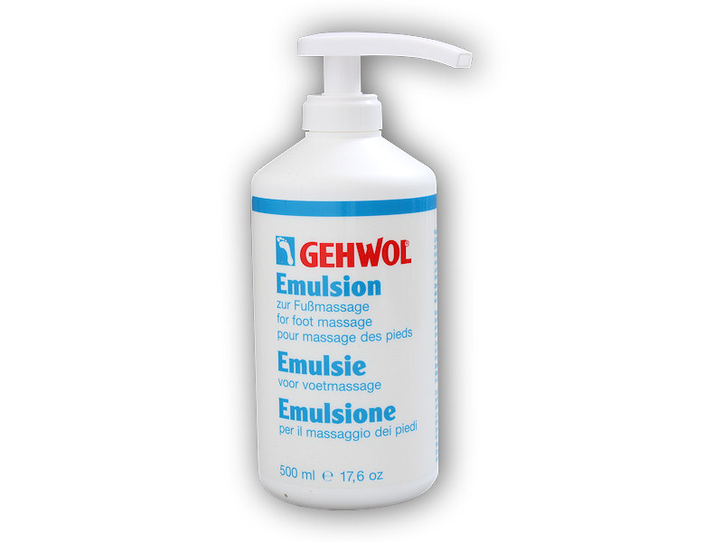 Emulsion masážní 500ml s pumpou
