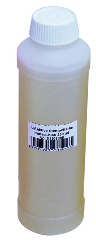 UV razítkovací barva 250ml, modrá