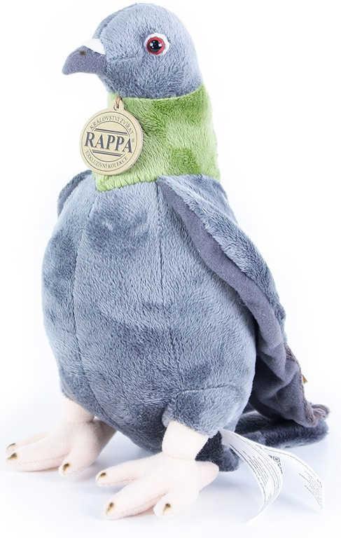 PLYŠ Pták holub 23 cm