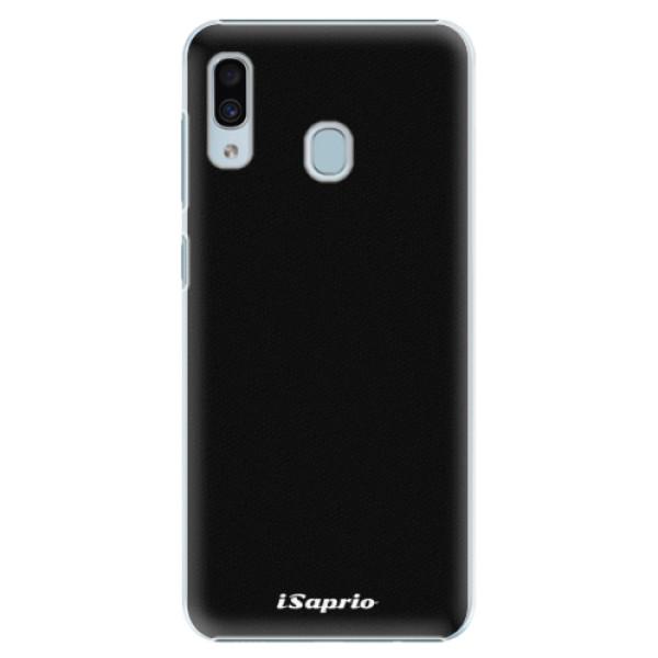 Plastové pouzdro iSaprio - 4Pure - černý - Samsung Galaxy A30