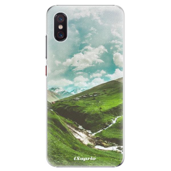 Plastové pouzdro iSaprio - Green Valley - Xiaomi Mi 8 Pro