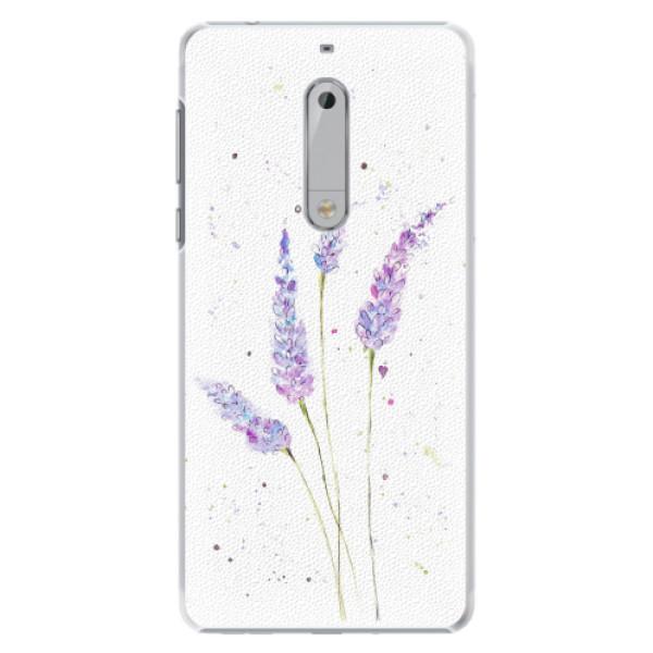 Plastové pouzdro iSaprio - Lavender - Nokia 5