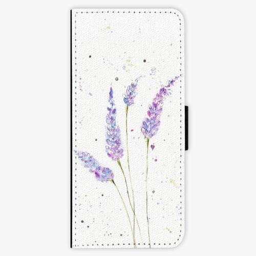Flipové pouzdro iSaprio - Lavender - Samsung Galaxy J3 2016