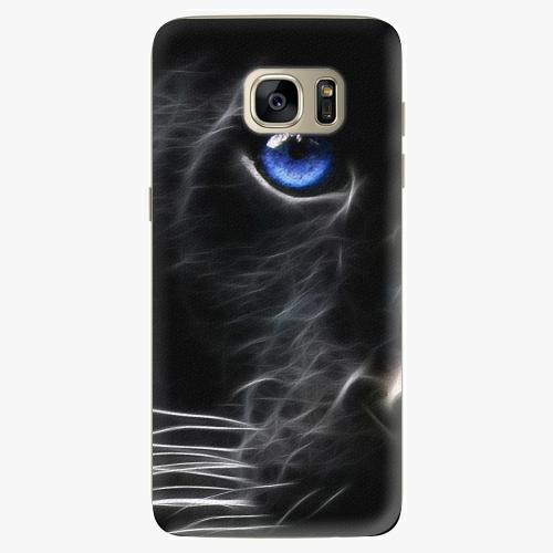 Plastový kryt iSaprio - Black Puma - Samsung Galaxy S7 Edge
