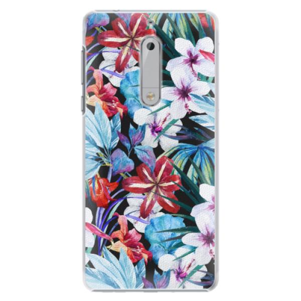 Plastové pouzdro iSaprio - Tropical Flowers 05 - Nokia 5