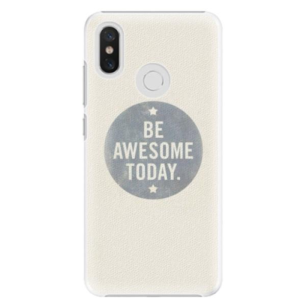 Plastové pouzdro iSaprio - Awesome 02 - Xiaomi Mi 8