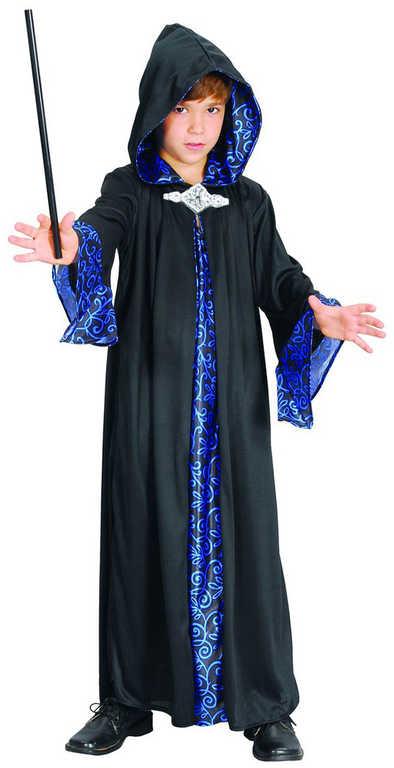 KARNEVAL Šaty Kouzelník vel. M (120-130 cm) 5-9 let KOSTÝM