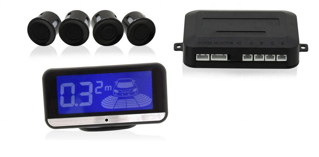 Parkovací asistent - 4 senzory, LCD display