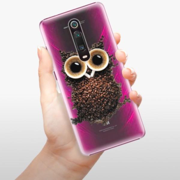 Plastové pouzdro iSaprio - Owl And Coffee - Xiaomi Mi 9T