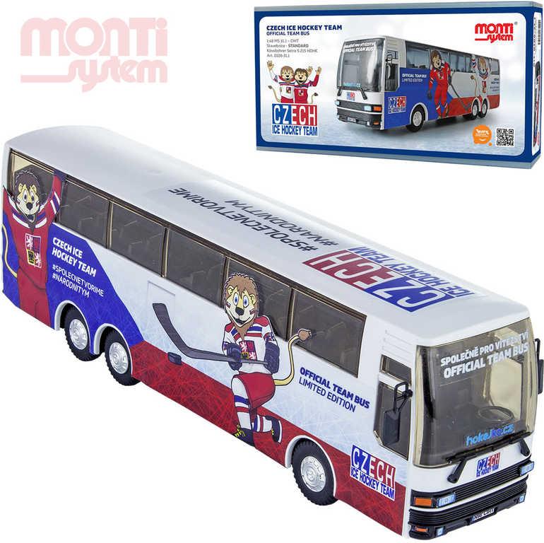 MONTI SYSTÉM 31.1 Autobus Czech Ice Hockey Team 1:48 MS31 0108-31.1