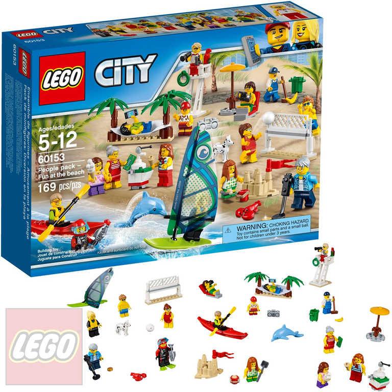 LEGO CITY Sada postav - Zábava na pláži 60153 STAVEBNICE