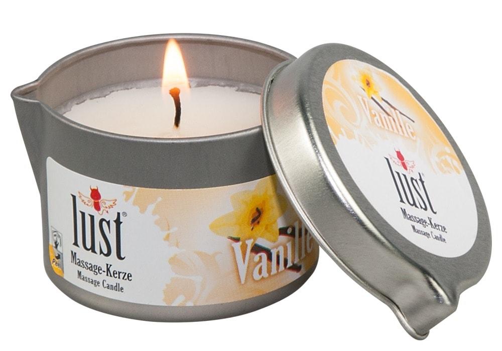 MVW Body Candle Massagekerze Vanille 50ml