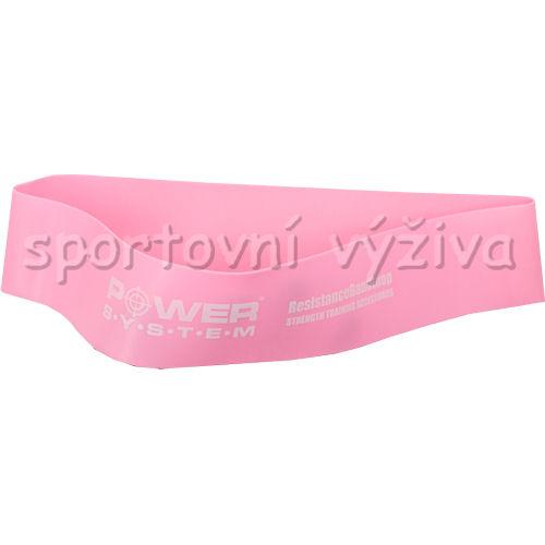 Posilovací guma FLEX LOOP 1 pink