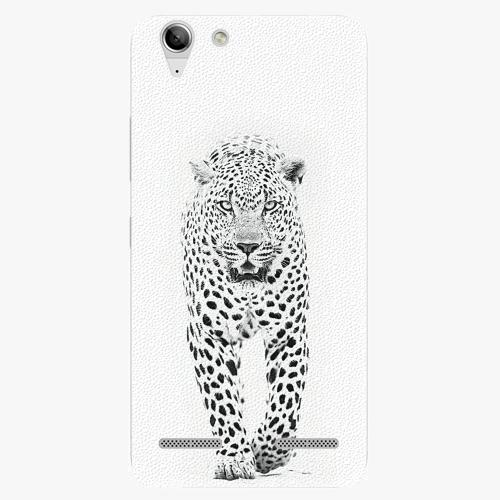 Plastový kryt iSaprio - White Jaguar - Lenovo Vibe K5