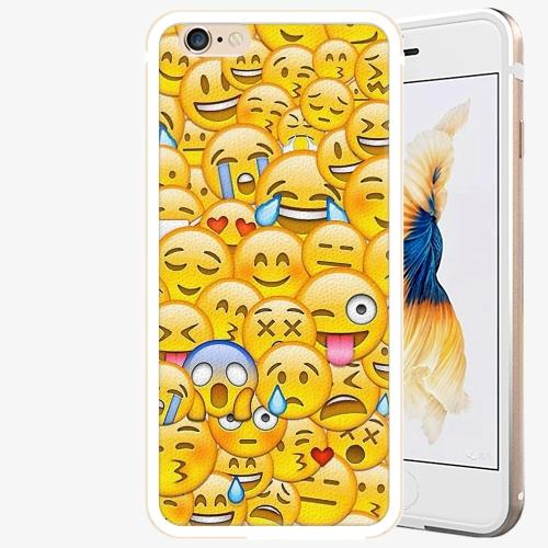 Plastový kryt iSaprio - Emoji - iPhone 6 Plus/6S Plus - Gold