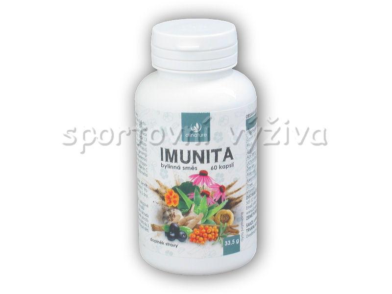 Imunita bylinný extrakt 60 kapslí