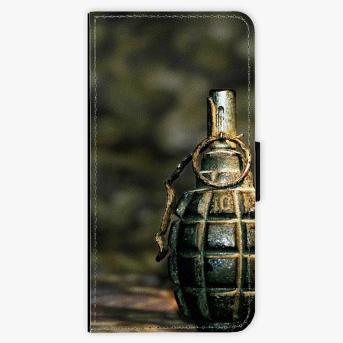 Flipové pouzdro iSaprio - Grenade - iPhone 7 Plus