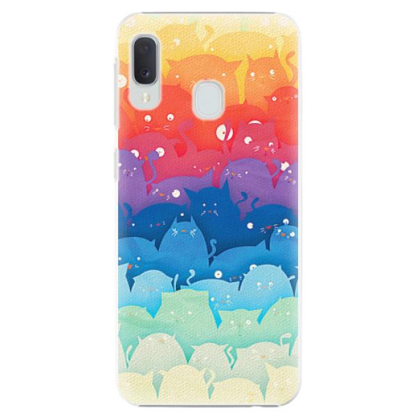 Plastové pouzdro iSaprio - Cats World - Samsung Galaxy A20e