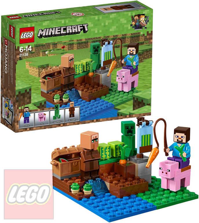 LEGO MINECRAFT Melounová farma STAVEBNICE 21138