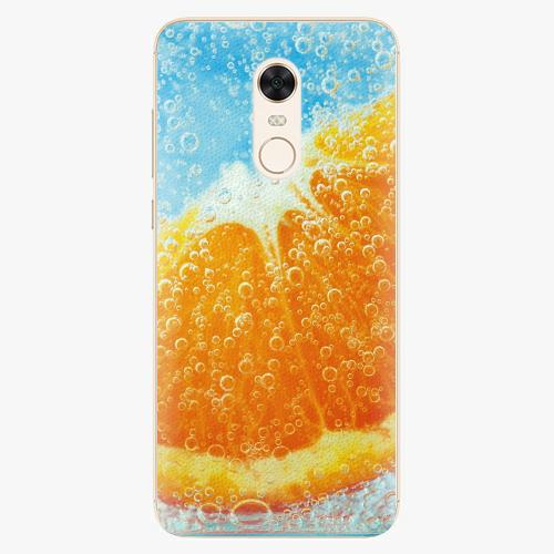 Plastový kryt iSaprio - Orange Water - Xiaomi Redmi 5 Plus