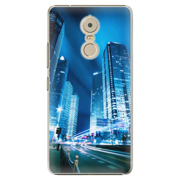 Plastové pouzdro iSaprio - Night City Blue - Lenovo K6 Note