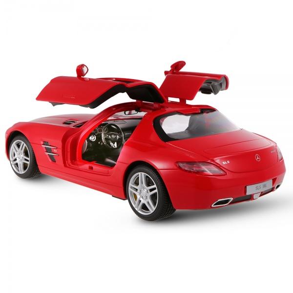 Mercedes-Benz SLS AMG, červená RC auto 1:14