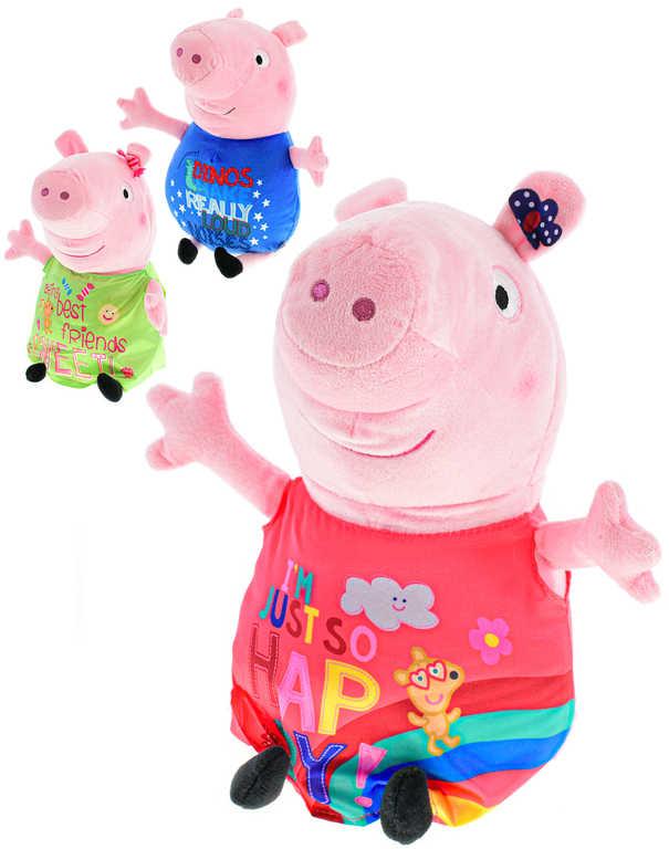 PLYŠ Prasátko Peppa Pig Happy Oink 20cm 6 druhů *PLYŠOVÉ HRAČKY*
