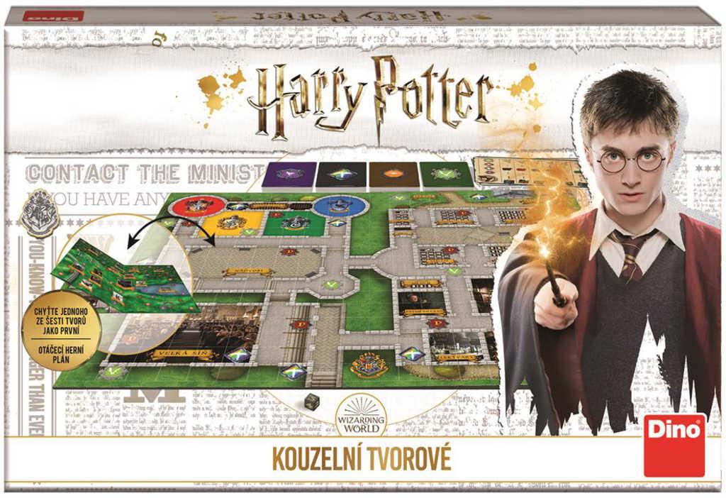 DINO Hra Harry Potter: Kouzelní tvorové *SPOLEČENSKÉ HRY*