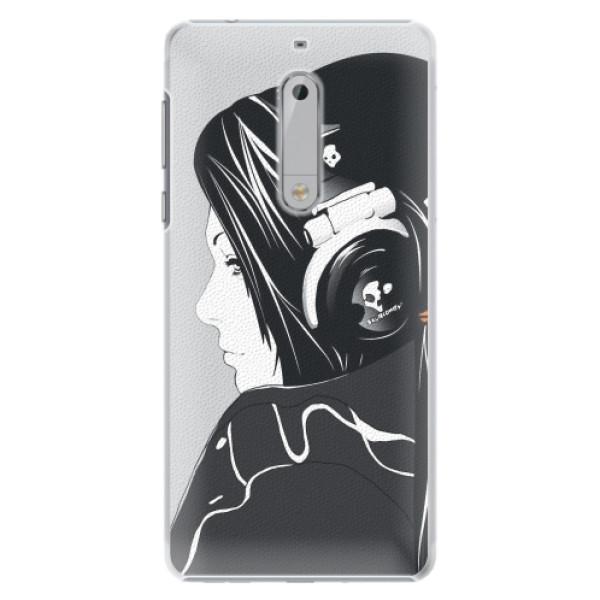 Plastové pouzdro iSaprio - Headphones - Nokia 5