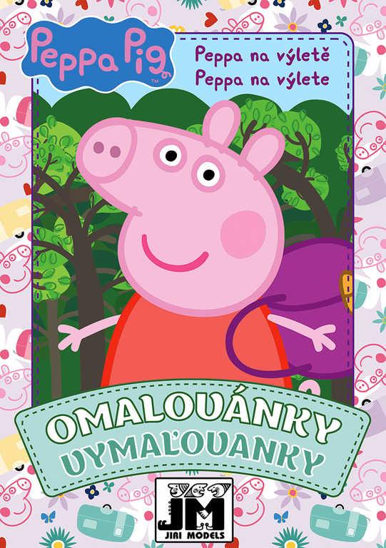 JIRI MODELS Omalovánky A5+ Peppa Pig