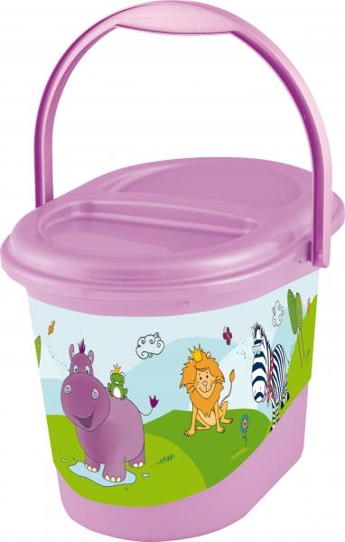 Keeeper Kbelík na plenky Hippo - fialový