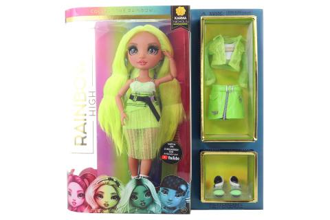 Rainbow High Fashion panenka - Karma Nichols (Neon) TV