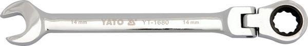 Klíč očkoplochý ráčnový 26 mm s kloubem