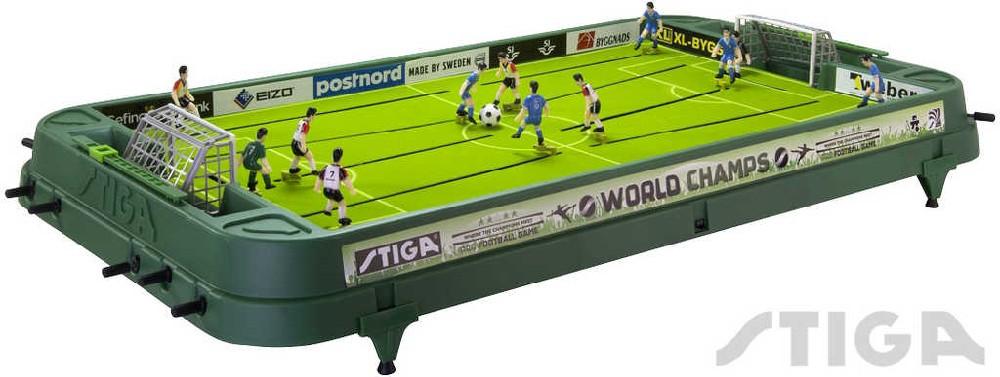 STIGA Hra Fotbal stolní s táhly WORLD CHAMPS Německo - Itálie
