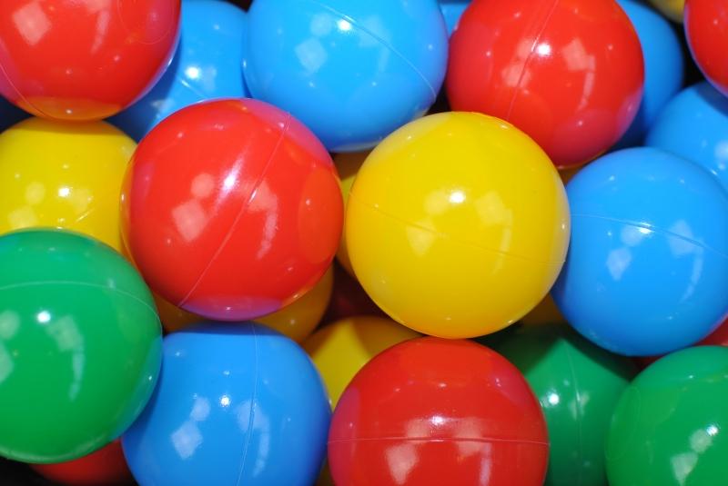 Náhradní balónky do bazénu - 200 ks, mix VII