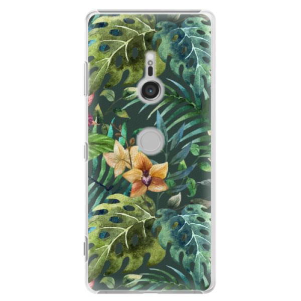 Plastové pouzdro iSaprio - Tropical Green 02 - Sony Xperia XZ3