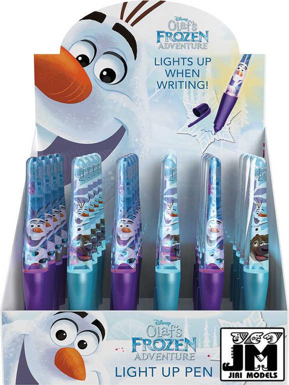 JIRI MODELS Tužka svítící 16cm Olaf Ledové Království (Frozen) 2 barvy