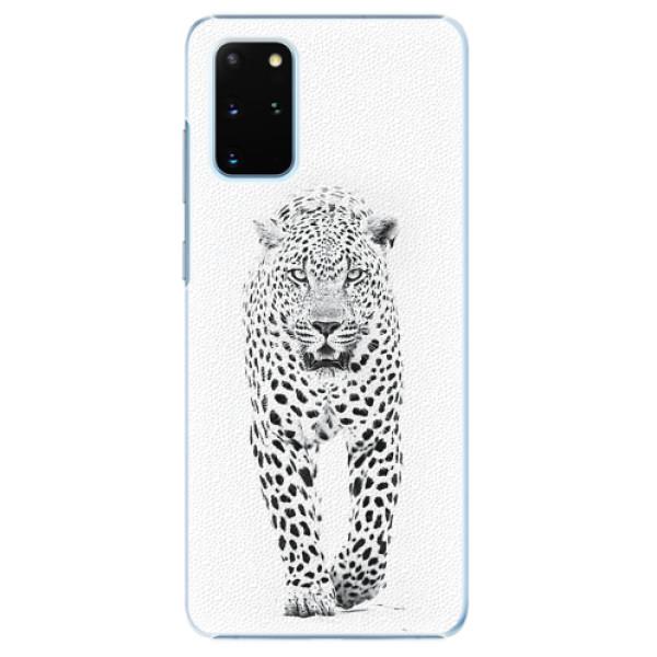 Plastové pouzdro iSaprio - White Jaguar - Samsung Galaxy S20+